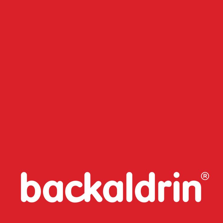 backaldrin, Logo, 2017