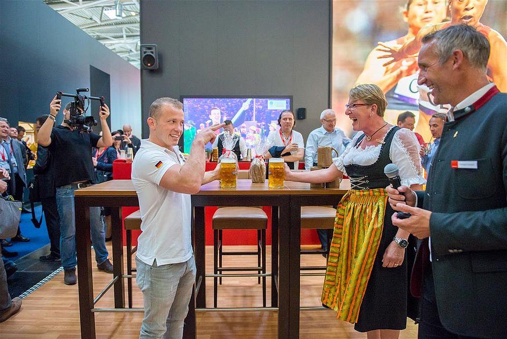 iba, 2018, München, backaldrin, Fabian Hambuchen, Kornspitz Sportteam