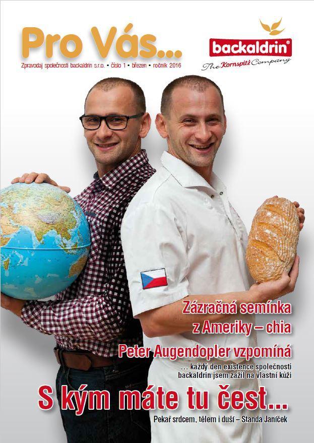 Pro Vas, Titelblatt 2016, backaldrin