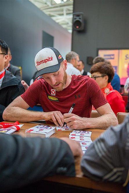 backaldrin, iba, 2018, Kornspitz Sportteam, Unterschriften, Biathlon